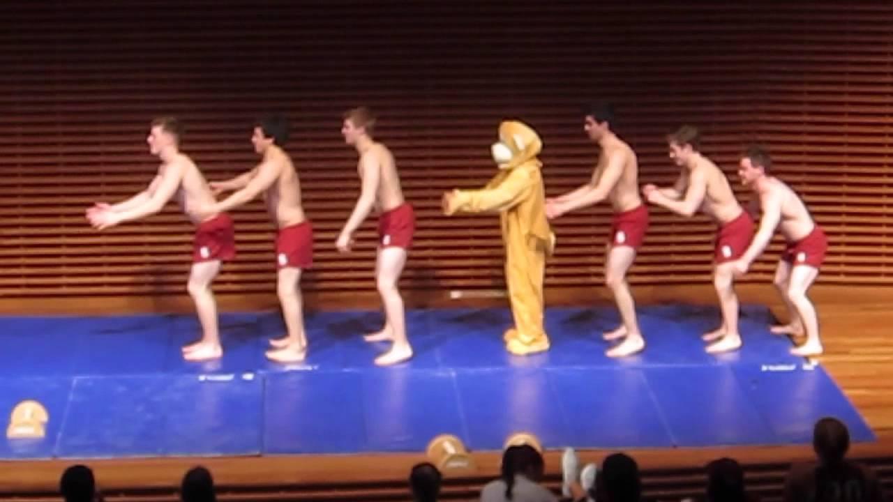 2014 Stanford Athlete Date Auction: Men's Gymnastics - YouTube