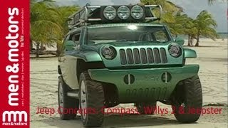 Jeep Concepts: Compass, Willys 2 & Jeepster