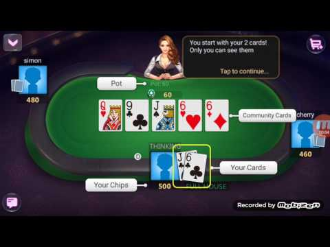 how to play poker king game