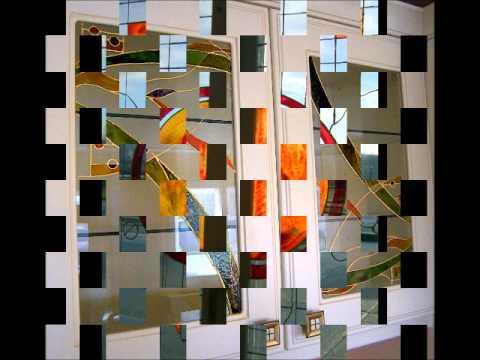 Peinture sur verre faux youtube for Peinture sur verre