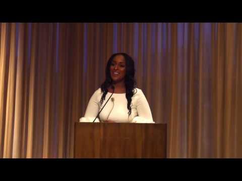 Natasha Alford 'Rising Leader Award' Acceptance Speech   Harvard College Women's Center
