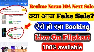 Realme Narzo 10A Next Sale | Realme Narzo 10A Next Sale booking Tricks | Realme Narzo 10 Next Sale