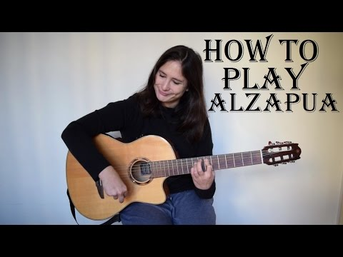 How to play Alzapua (flamenco guitar lesson) with FREE TAB ✔
