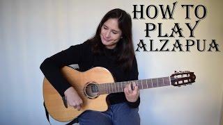 How to play Alzapua (flamenco guitar lesson) with FREE TAB ✔