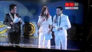 Wyne Lay (Miss World Myanmar 2014) Sing a Song!