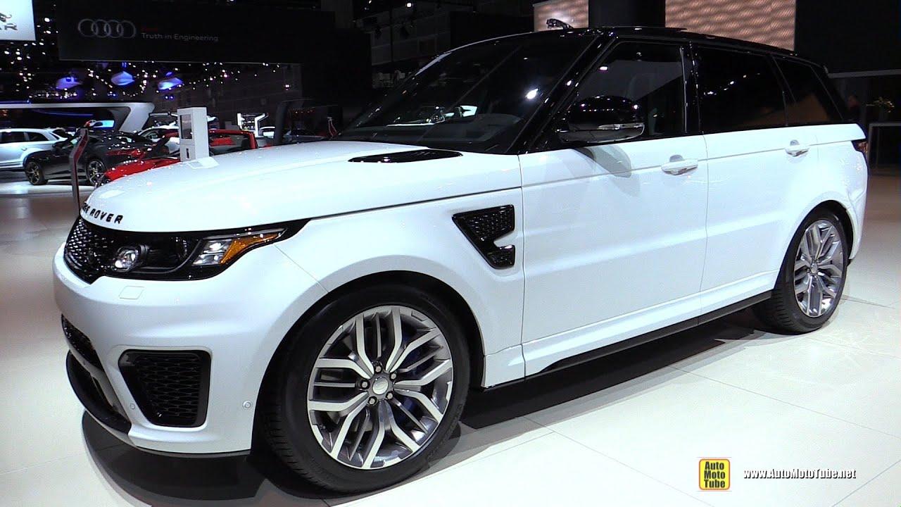 2015 Range Rover Sport SVR Exterior Walkaround 2014 LA Auto