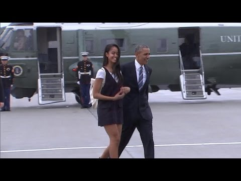 """Is Malia Obama's """"gap year"""" a growing trend?"""