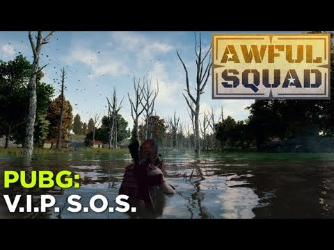 AWFUL SQUAD: VIP SOS With Griffin, Justin, Simone, Pat, Travis, and More!