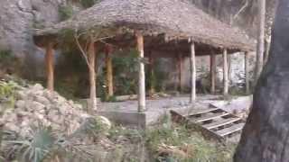 Cenote el Zacatón  y poza Verde en Aldama Tamaulipas México.