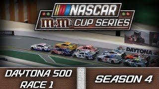 Nascar Stop Motion M&M Cup Series S4 Race 1: Daytona 500