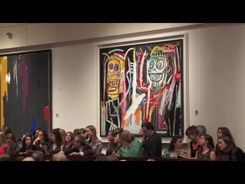 Jean-Michel Basquiat – Dustheads | 2013 World Auction Record