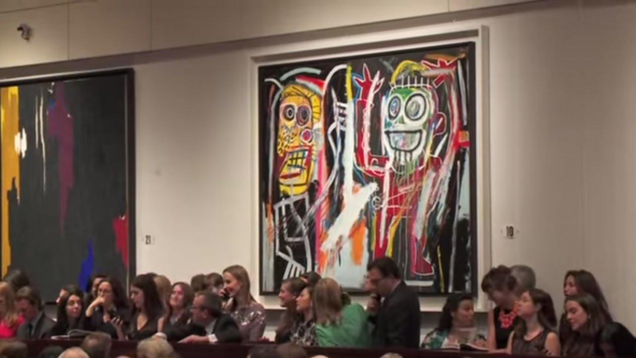 Jean-Michel Basquiat | Dustheads | 2013 World Auction Record