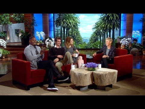 Thumbnail: Ellen Asks Emma Stone and Andrew Garfield About Sharing Hotel Rooms
