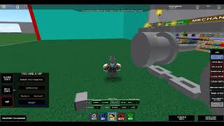 Roblox, Build your own Mech working tank tracks/treds -prototype
