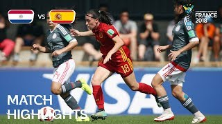 Paraguay v Spain - FIFA U-20 Women's World Cup France 2018 - Match 6