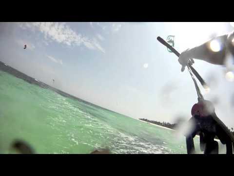 A day at H2o Extreme Kite center, Kite Beach Kenya