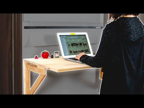 how-to-make-a-wall-mounted-folding-desk-|-minimalist-home-office-desk