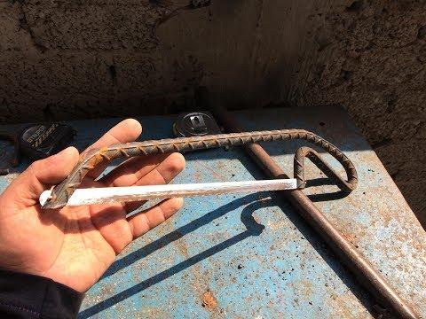 Como hacer un arco para cortar metales
