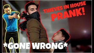 BREAKING into SHAM IDREES'S HOUSE!! *gone wrong*
