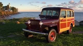 Jeep History: 1946-1965 Willys Station Wagon