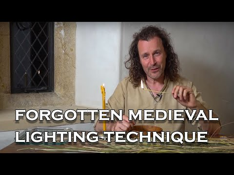 Medieval living: How Did Medieval Peasants Light Their Homes?