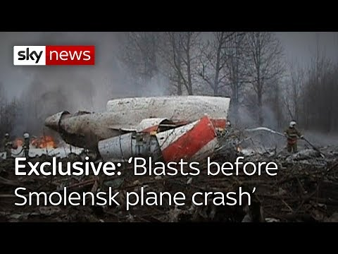 Exclusive: 'Blasts before Smolensk plane crash'