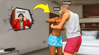 ESPIONANDO PLAYERS SECRETAMENTE NO GTA 5 ROLEPLAY!!
