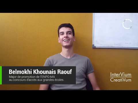Interview De Belmokhi Raouf - Majorant Du Concours 2017 à L'ENPO | InterVium