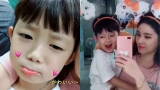 韓国の可愛い男の子 ギヨンくんとママのロッテワールドデート