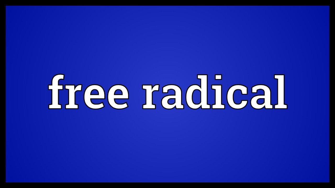 Free radical meaning youtube free radical meaning malvernweather Images