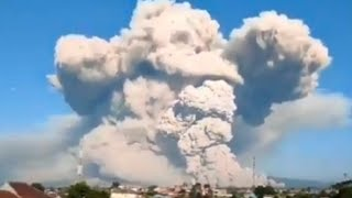 Two Geomatic Storms in Two Days/ Mt Sinabung w/ 40k ash plume/ Bluegrass State Under Water