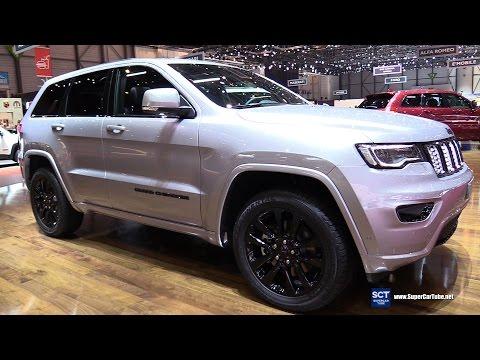 2017 Jeep Grand Cherokee Night Eagle - Exterior and Interior Walkaround - 2017 Geneva Motor Show