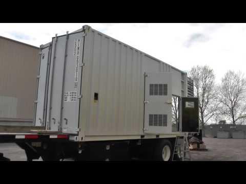 1025 KW Mitsubishi Mobile Diesel Generator Set – 480 V, Used Standby Genset #86832
