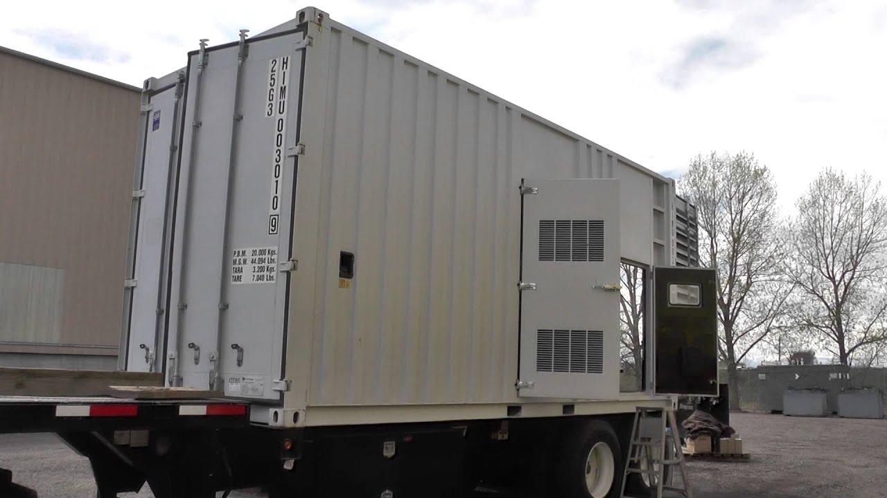 1025 kW Mitsubishi Mobile Diesel Generator Set – 480 V Used