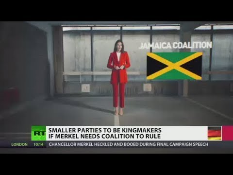 'Jamaica Coalition': Smaller parties to be kingmakers if Merkel needs alliance to rule