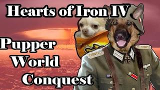 Hearts Of Iron 4 DOGGOS TAKE OVER - HUNDLAND MOD