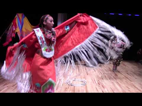 nstitute of American Indian Arts Open House - Performance Dance Death and Love Clip 2