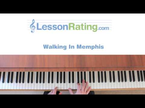 How to Play Walking in Memphis on the Piano