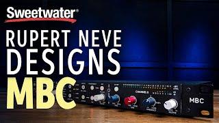 Rupert Neve Designs MBC Master Bus A/D Converter and Limiter Demo