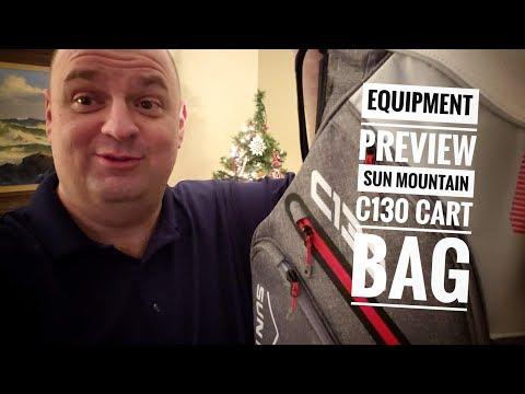 Equipment Preview: Sun Mountain Sports C130 Cart Bag (2018)