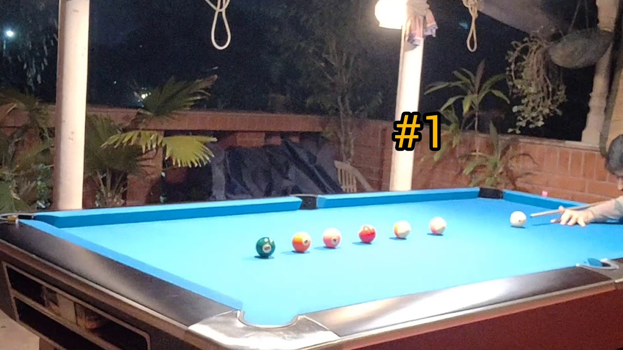 Super Quick Pool Billiards practice drill #3 for beginners under 1 minute | Lucky 6 | One Pocket