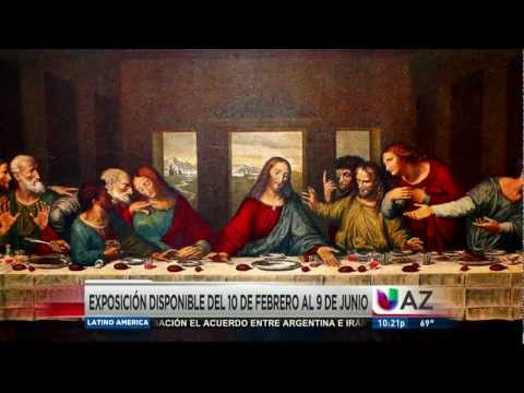Exhibición de Leonardo Da Vinci: The Genious - Univision Arizona por Jorge Valenzuela Travel Video
