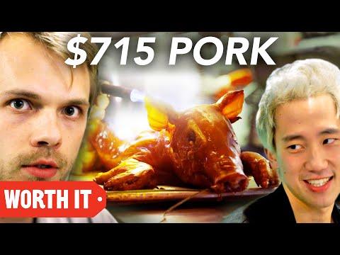 $12 Pork Vs. $715 Pork