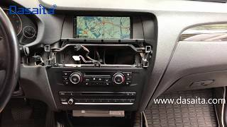 BMW X3  X4  F25 F26 Installation Android Multimedia Navigation System