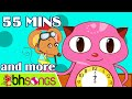 Download Hickory Dickory Dock , ABC Song   Nursery Rhymes and Kids Songs   55 Minutes [Official Ultra HD 4K] MP3 song and Music Video