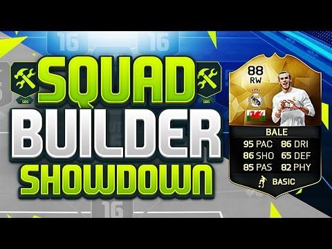 FIFA 16 SQUAD BUILDER SHOWDOWN!!! INFORM GARETH BALE!!! Fifa 16 Squad Builder Duel