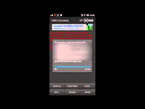 Πως ανoίγουμε αρχεία .vmg στο Android. VMG Converter