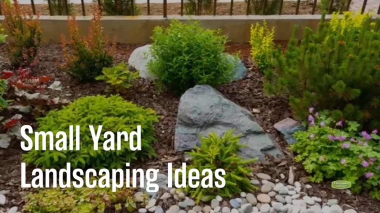 Landscaping Ideas For A Small Yard Youtube