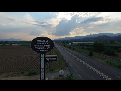 Nazilli - Havadan Tanıtım Videosu