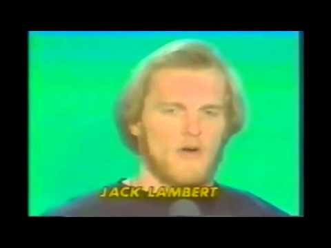 Howard Cossell-Jack Lambert MNF interview about protection of QB